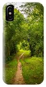Gosnell Big Woods Trail IPhone Case