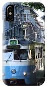Gothenburg Tram 01 IPhone Case