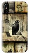 Gothic And Crows IPhone Case