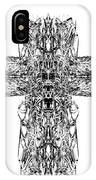 Gothic Cross IPhone Case