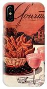 Gourmet Cover Featuring A Basket Of Potato Curls IPhone X Case