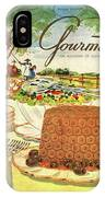 Gourmet Cover Featuring A Buffet Farm Scene IPhone Case
