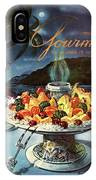 Gourmet Cover Illustration Of Fruit Dish IPhone X Case