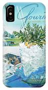 Gourmet Cover Illustration Of Mint Julep Packed IPhone Case