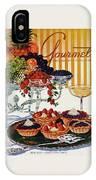 Gourmet Cover Of Fruit Tarts IPhone X Case