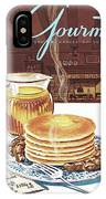 Gourmet Cover Of Pancakes IPhone Case