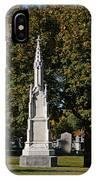 Graceland Cemetery - Garden Of The Dead IPhone Case