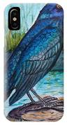 Grackle By The Water IPhone Case