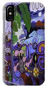 Graffiti Alley San Francisco IPhone Case