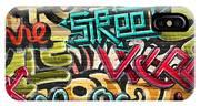 Graffiti Grunge Texture. Eps 10 IPhone Case