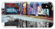 Graffiti Reflection IPhone Case