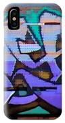 Graffiti Tangled Purple IPhone Case