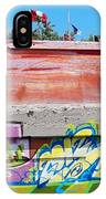 Graffiti With Flags IPhone Case