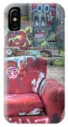 Grafitti Couch IPhone Case