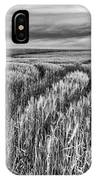 Grain Field Tracks IPhone Case