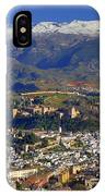 Granada And The Alhambra IPhone Case