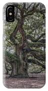 Grand Angel Oak Tree IPhone Case