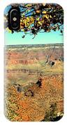 Grand Canyon Framed By Nature IPhone Case