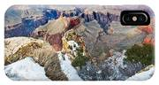 Grand Canyon In February IPhone Case