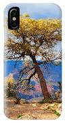 Grand Canyon National Park And Tree IPhone Case