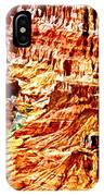 Grand Canyon Navajo Painting IPhone Case