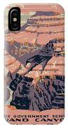 Grand Canyon Travel Poster 1938 IPhone Case