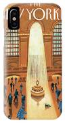 Grand Central Heating IPhone Case