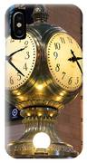 Grand Central Station Clock IPhone Case