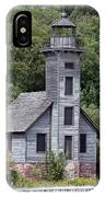 Grand Island East Channel Lighthouse IPhone Case