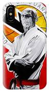 Grand Master Helio Gracie IPhone Case