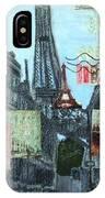 Grand Ole Paris-postcard From Paris IPhone X Case