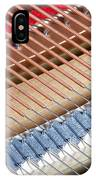 Grand Piano Strings IPhone Case