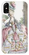 Grand Robe A La Francais, Engraved IPhone Case