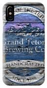 Grand Teton Brewing IPhone Case