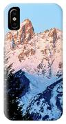 Grand Teton National Park Moonset IPhone Case
