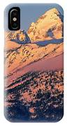 Grand Tetons In Winter IPhone Case