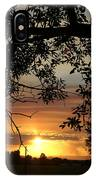 Grand Valley Sunset IPhone Case