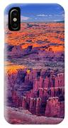 Grand View Point Evening Panorama IPhone Case