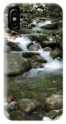 Granite Boulders In A River  IPhone Case