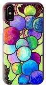 Grape De Chine IPhone Case