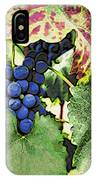Grapes 3 IPhone Case