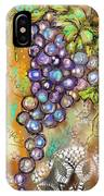 Grapes In The Vineyard  IPhone Case