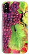 Grapes On Vine Pastel IPhone Case