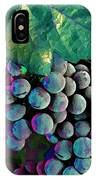 Grapes Painterly IPhone Case