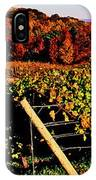 Grapevines In Vineyard, Traverse City IPhone Case