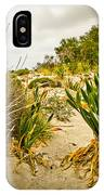 Grass And Sand Of Elafonisi IPhone Case