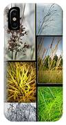 Grass Collage Variety IPhone Case