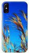 Grass In The Wind IPhone Case