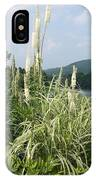 Garden Over A River IPhone Case