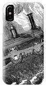 Grassi Locomotive, 1857 IPhone Case